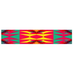 Colorful Tribal Texture Flano Scarf