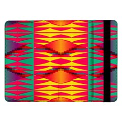 Colorful Tribal Texture	samsung Galaxy Tab Pro 12 2  Flip Case