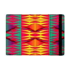 Colorful Tribal Texture	apple Ipad Mini 2 Flip Case