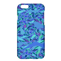 Blue Confetti Storm Apple iPhone 6 Plus Hardshell Case