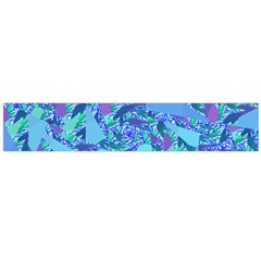 Blue Confetti Storm Flano Scarf (Large)