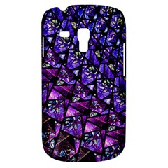 Blue Purple Glass Samsung Galaxy S3 Mini I8190 Hardshell Case