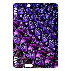Blue Purple Glass Kindle Fire Hdx Hardshell Case