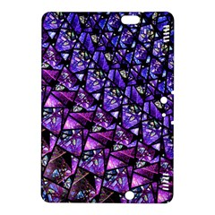 Blue purple Glass Kindle Fire HDX 8.9  Hardshell Case