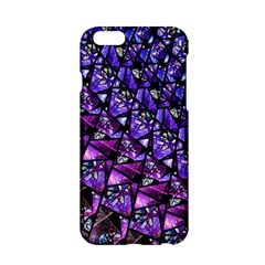 Blue purple Glass Apple iPhone 6 Hardshell Case