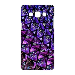 Blue Purple Glass Samsung Galaxy A5 Hardshell Case