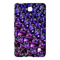 Blue purple Glass Samsung Galaxy Tab 4 (7 ) Hardshell Case