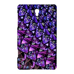 Blue purple Glass Samsung Galaxy Tab S (8.4 ) Hardshell Case