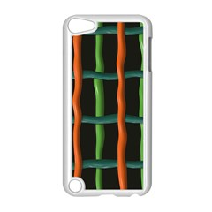 Orange Green Wires Apple Ipod Touch 5 Case (white)