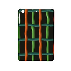 Orange Green Wires Apple Ipad Mini 2 Hardshell Case