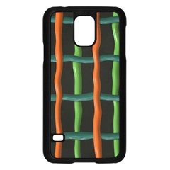 Orange green wiresSamsung Galaxy S5 Case