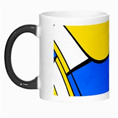 Colorful Distorted Shapes Morph Mug