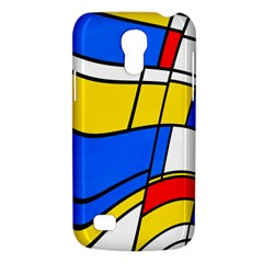 Colorful Distorted Shapes Samsung Galaxy S4 Mini (gt I9190) Hardshell Case
