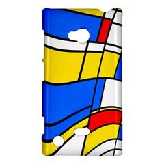 Colorful Distorted Shapes Nokia Lumia 720 Hardshell Case