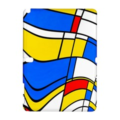 Colorful Distorted Shapes Samsung Galaxy Note 10 1 (p600) Hardshell Case
