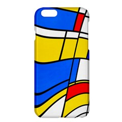 Colorful Distorted Shapes	apple Iphone 6 Plus Hardshell Case