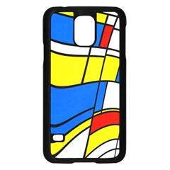 Colorful distorted shapes	Samsung Galaxy S5 Case