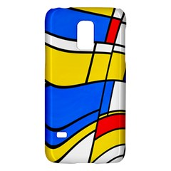 Colorful distorted shapesSamsung Galaxy S5 Mini Hardshell Case