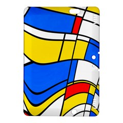 Colorful distorted shapes	Kindle Fire HDX 8.9  Hardshell Case
