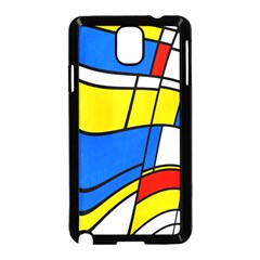 Colorful distorted shapes Samsung Galaxy Note 3 Neo Hardshell Case