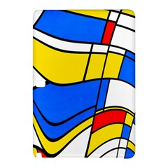 Colorful distorted shapes	Samsung Galaxy Tab Pro 12.2 Hardshell Case
