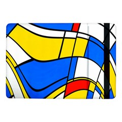 Colorful Distorted Shapes	samsung Galaxy Tab Pro 10 1  Flip Case