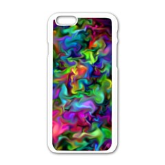 Unicorn Smoke Apple iPhone 6 White Enamel Case