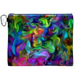 Unicorn Smoke Canvas Cosmetic Bag (XXXL)