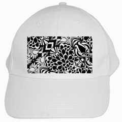 70 s Wallpaper White Baseball Cap
