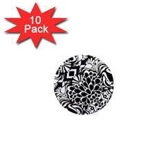 70 s Wallpaper 1  Mini Button Magnet (10 Pack)