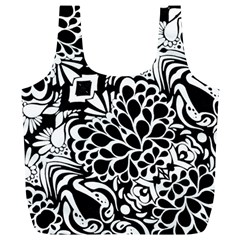 70 s Wallpaper Reusable Bag (xl)