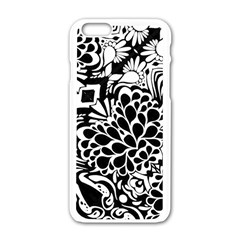 70 s Wallpaper Apple Iphone 6 White Enamel Case