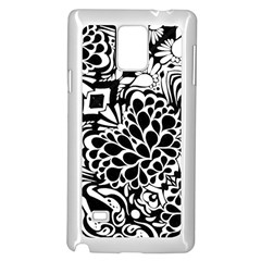 70 s Wallpaper Samsung Galaxy Note 4 Case (White)