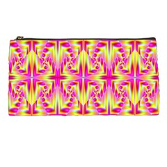 Pink And Yellow Rave Pattern Pencil Case