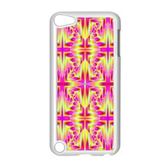 Pink And Yellow Rave Pattern Apple Ipod Touch 5 Case (white)