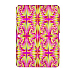 Pink And Yellow Rave Pattern Samsung Galaxy Tab 2 (10 1 ) P5100 Hardshell Case