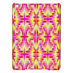 Pink And Yellow Rave Pattern Apple Ipad Air Hardshell Case