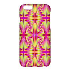 Pink and Yellow Rave Pattern Apple iPhone 6 Plus Hardshell Case