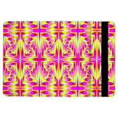 Pink And Yellow Rave Pattern Apple Ipad Air 2 Flip Case