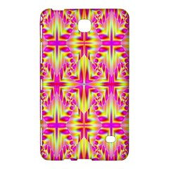 Pink and Yellow Rave Pattern Samsung Galaxy Tab 4 (7 ) Hardshell Case
