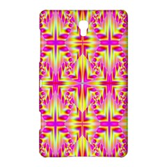 Pink and Yellow Rave Pattern Samsung Galaxy Tab S (8.4 ) Hardshell Case