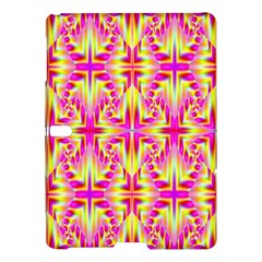 Pink and Yellow Rave Pattern Samsung Galaxy Tab S (10.5 ) Hardshell Case