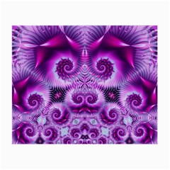 Purple Ecstasy Fractal Small Glasses Cloth (2 Sides)