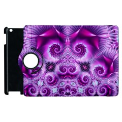 Purple Ecstasy Fractal Apple iPad 2 Flip 360 Case