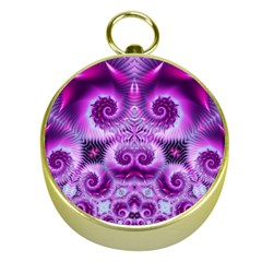 Purple Ecstasy Fractal Gold Compass