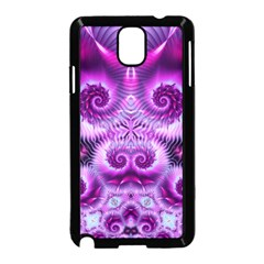 Purple Ecstasy Fractal Samsung Galaxy Note 3 Neo Hardshell Case (Black)