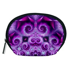 Purple Ecstasy Fractal Accessory Pouch (Medium)