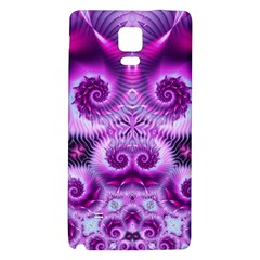 Purple Ecstasy Fractal Samsung Note 4 Hardshell Back Case