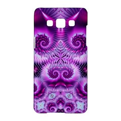 Purple Ecstasy Fractal Samsung Galaxy A5 Hardshell Case