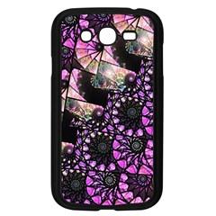 Hippy Fractal Spiral Stacks Samsung Galaxy Grand Duos I9082 Case (black)